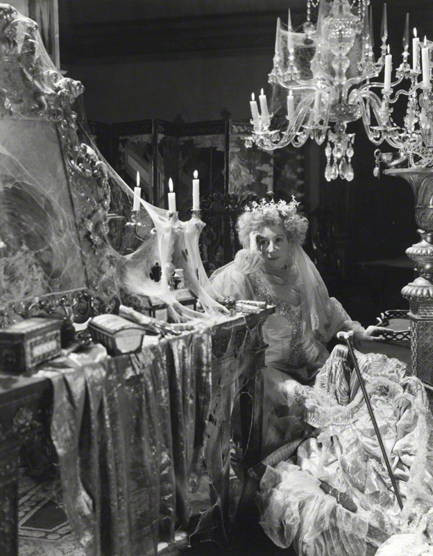 NPG x14113; Martita Hunt as Miss Havisham in 'Great Expectations' by Cecil Beaton