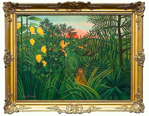 Henri_Rousseau_Three_apes_In_The_Orange_Grove_1907c