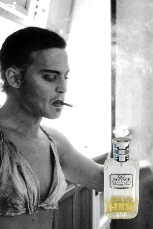 Eau Sauvage Vintage Johnny Depp
