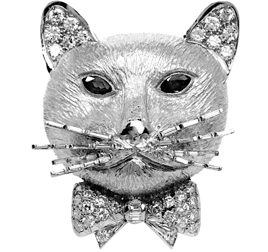 cat van cleef and arpels gold precious gems vintage heirloom antique adorn london jewellery trends blog two b