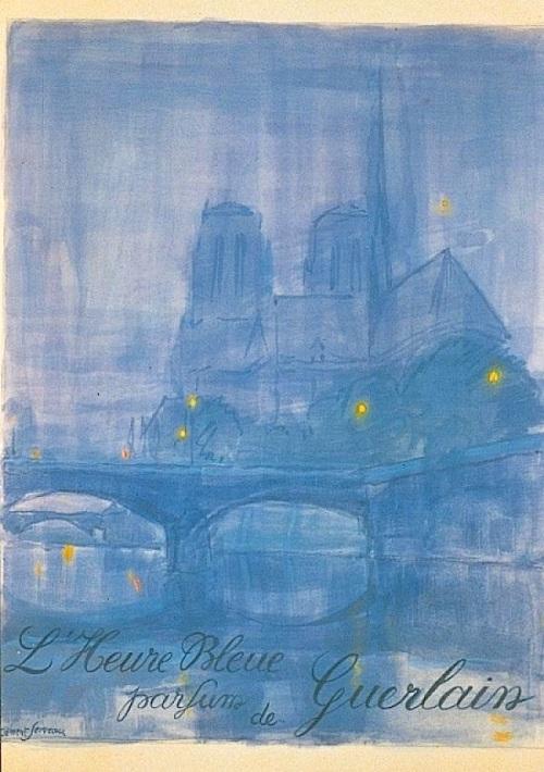 heure-bleue-guerlain-affiche-1912-clement-sevreau