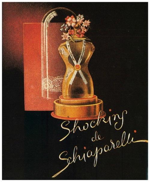Shociking de Schiaparelli vintage perfume ad