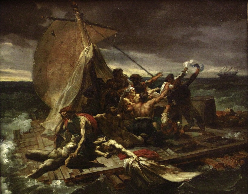 Théodore_Géricault_-_Le_Radeau_de_la_Méduse_esquisse_(salon_de_1819)