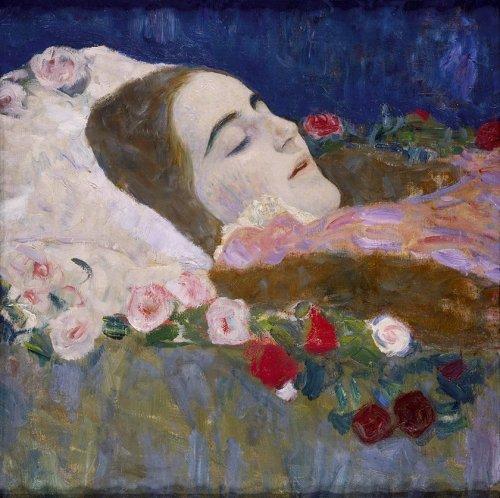 ria-munck-on-her-deathbed-by-gustave-klimt